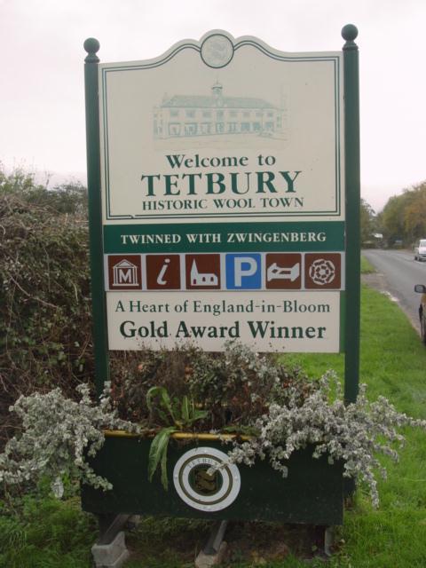 Tetbury Town Sign