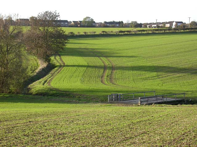 View towards Irchester