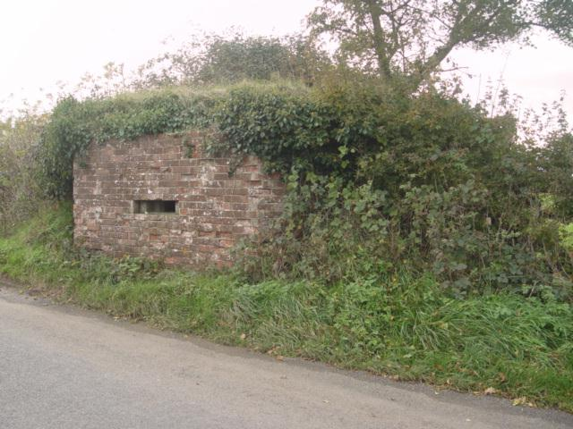 Pill Box near Long Newnton