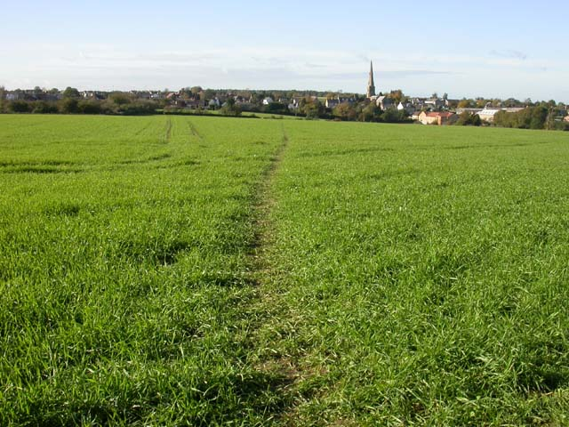 Footpath to Irchester
