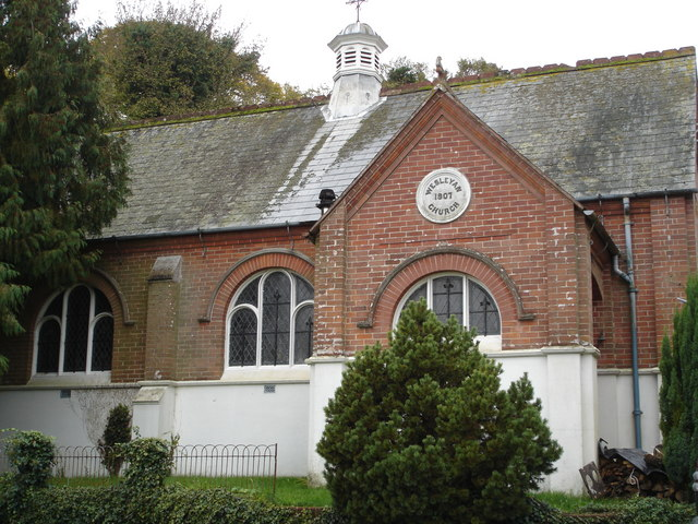 Converted chapel in Gussage St Michael
