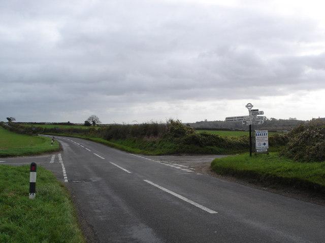 Junction - Gussage St Michael or Long Crichel?