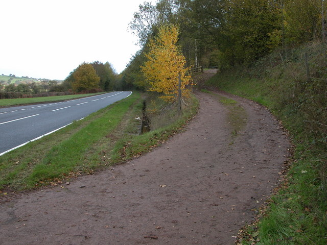 The A465 at Great Goytre
