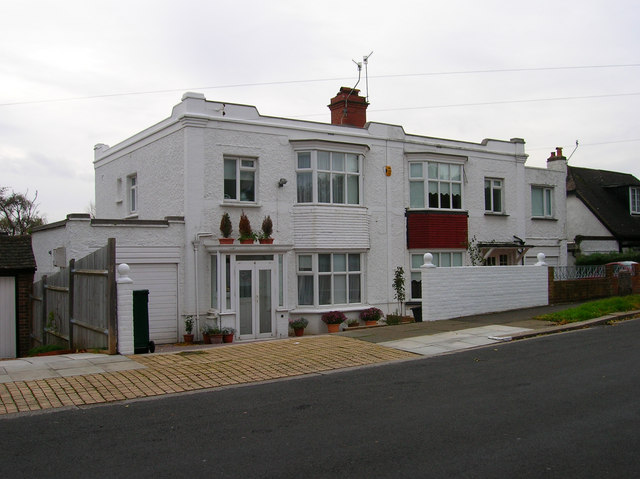 Art Deco Houses, Shirley Road