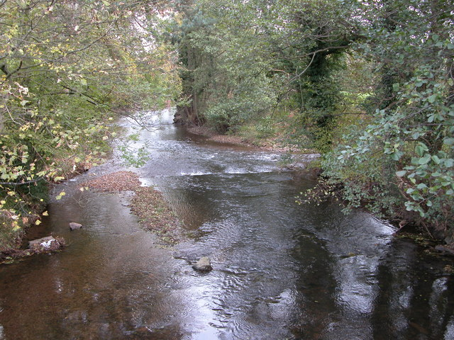 The Monnow and Honddu confluence at Alltyrynys