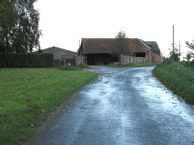 Buildings At Wood Farm