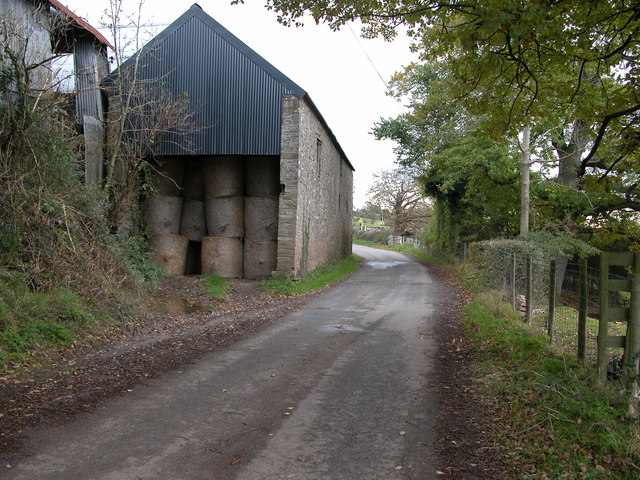 Barn at Lower Hunthouse Farm, Clodock