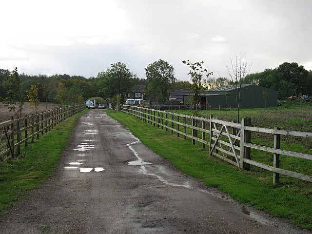 The Driveway To Warren Hill