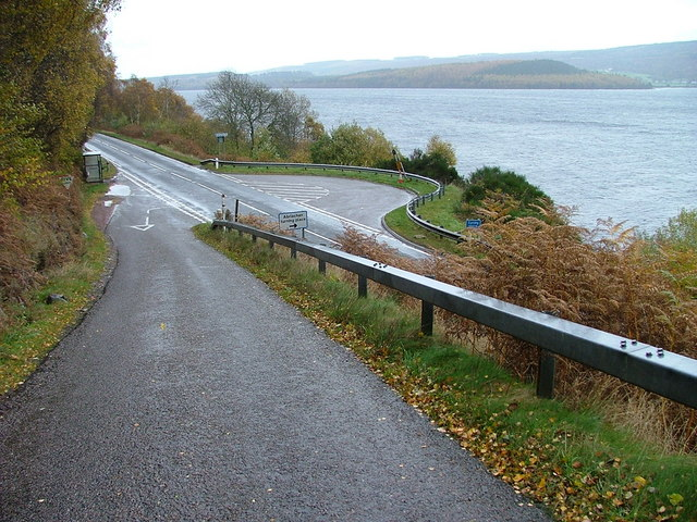 The Abriachan Road Turning Point