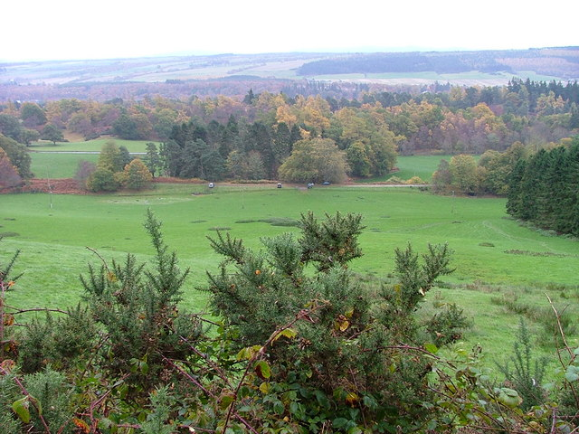 Pasture Land on the Dochgarroch Lodge Estate