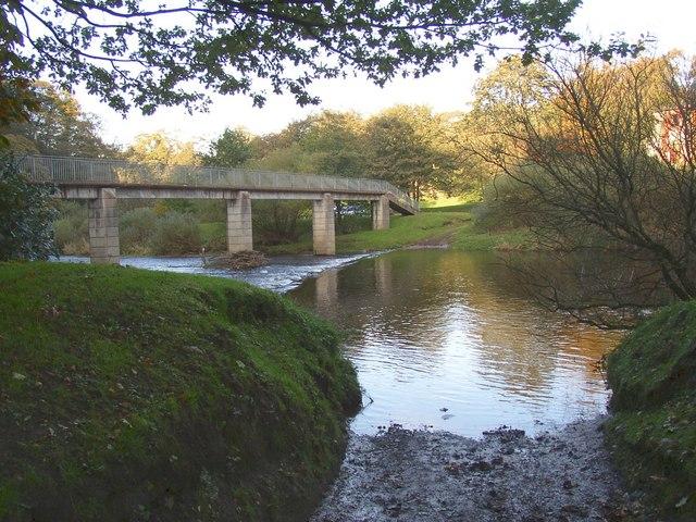 Ford and Jubilee Footbridge, Appleby