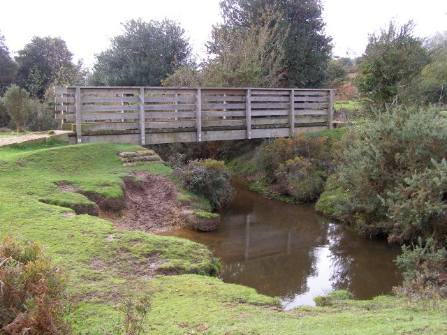 Footbridge, Millersford Bottom, New Forest