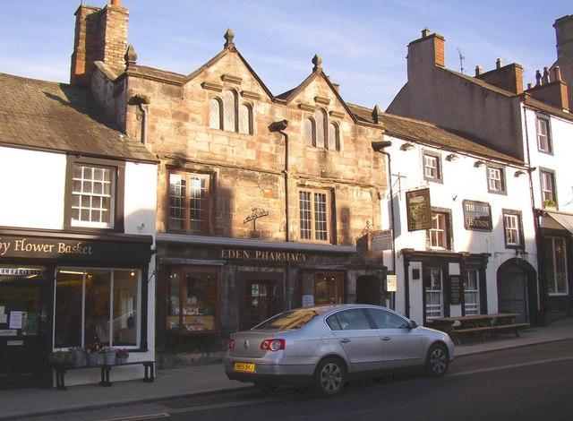 Pharmacy and pub, Boroughgate
