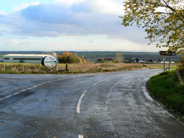 Approach to Fife Airport