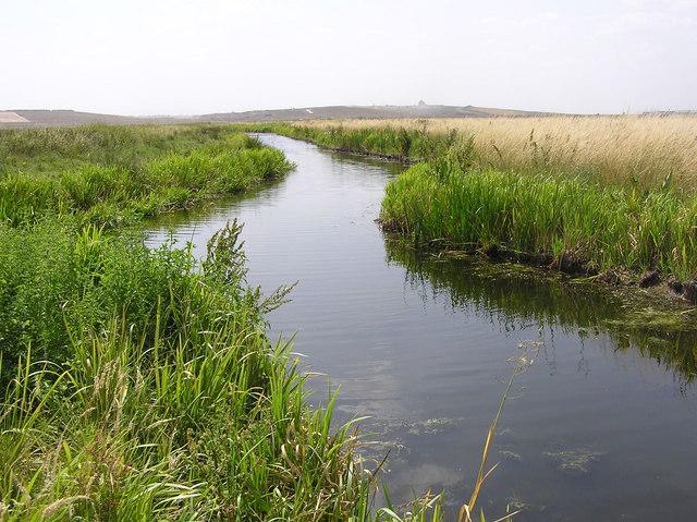 Wennington Drain, Wennington Marshes