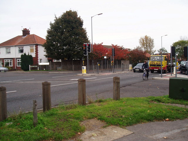 Road junction, Thorpe St Andrew