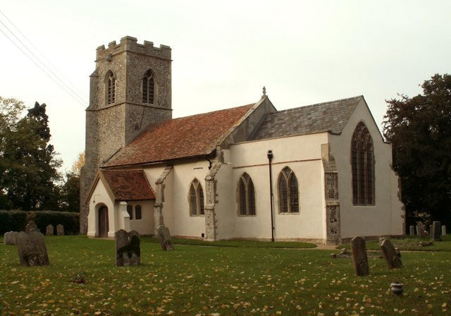 St. Mary's church, Nedging, Suffolk