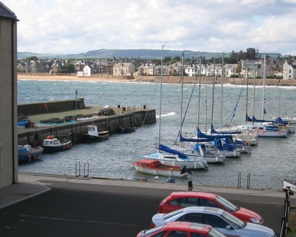 Elie Harbour looking towards Earlsferry
