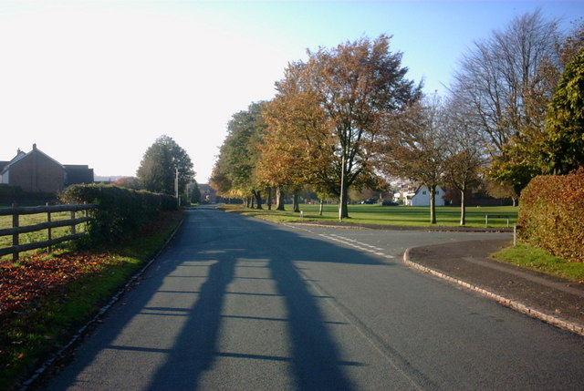 Green Road and the Village Green, Weston