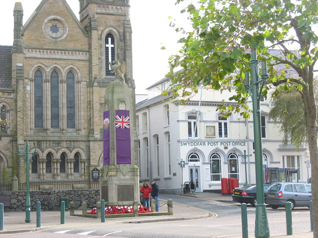The War Memorial,  Caernarfon
