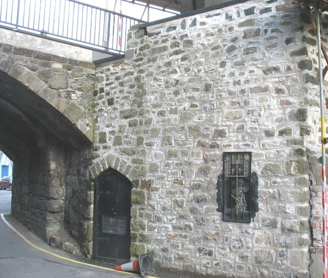 The Eastern Orthodox Chapel of SS Peter & Paul beneath East Gate Bridge