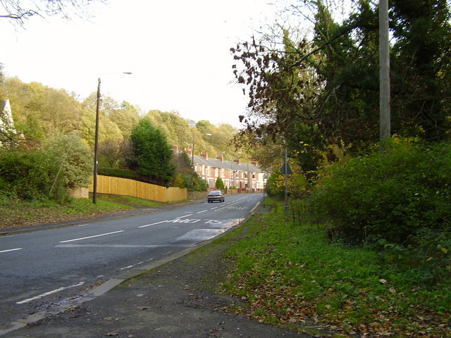 Glen Terrace on the outskirts of Chester le Street