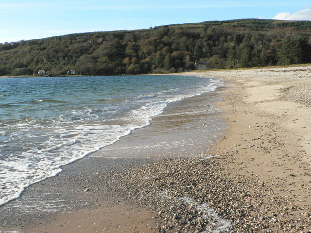 The Beach at Saddell Bay