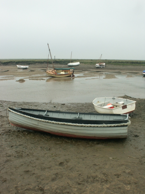 Boats, Burnham Overy Staithe