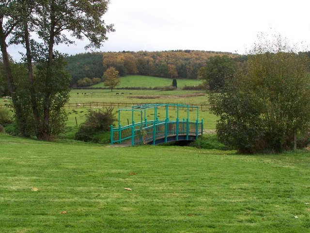 Footbridge Near The Old Schoolhouse