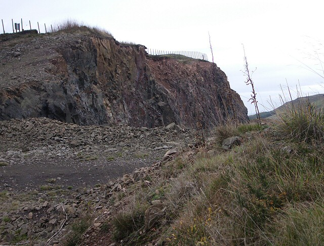 Collace Quarry (top)
