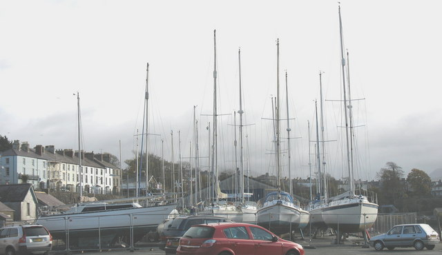 Wintering Yachts on the Slate Quay