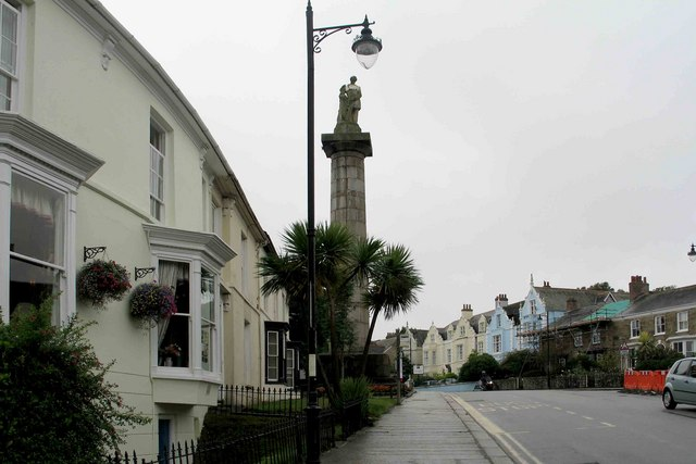 Richard Lander Monument, Truro