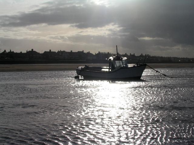 Boat at Meols