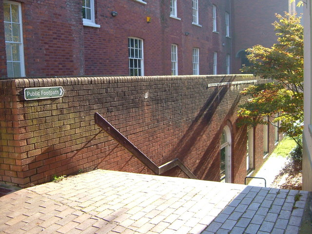 Steps to Southgate, Exeter