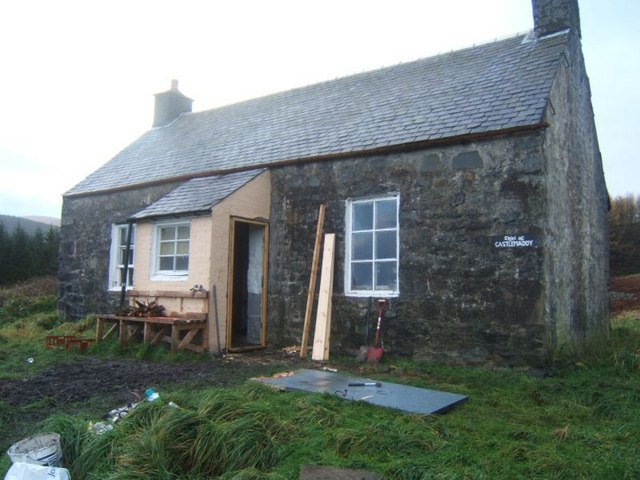 Shiel of Castlemaddy bothy