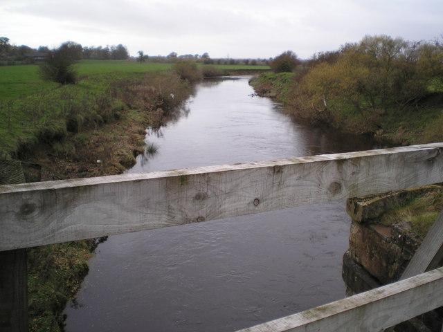 River Lyne north of Westlinton
