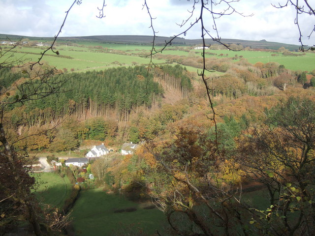 Autumnal view, Cwm Gwaun