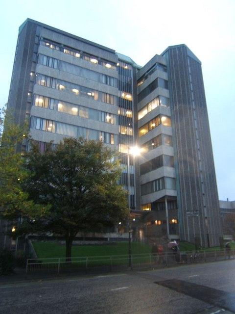 Glasgow University Boyd Orr Building