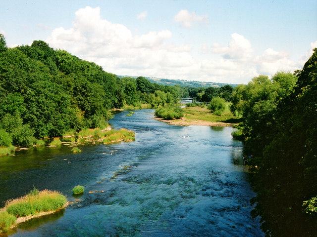 River Wye, Hay on Wye