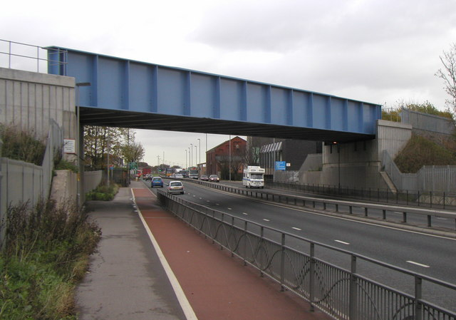 The New Hedon Road Railway Bridge