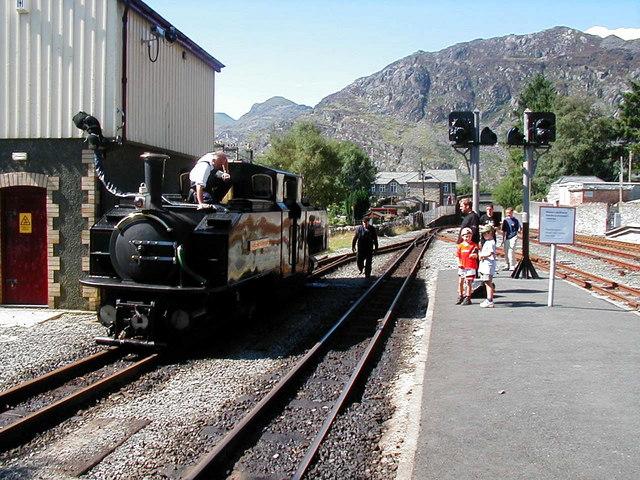 Blaenau Ffestiniog Station, Ffestiniog Railway