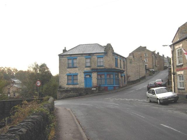 Bottom of Dye House Lane