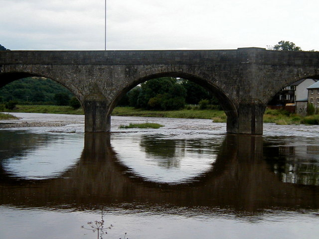 Bridge over the River Wye, Builth Wells