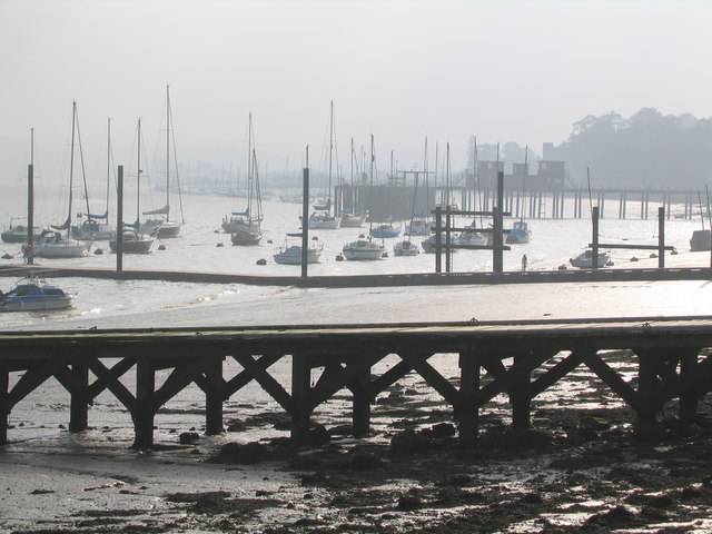 Waterfront Lower Upnor