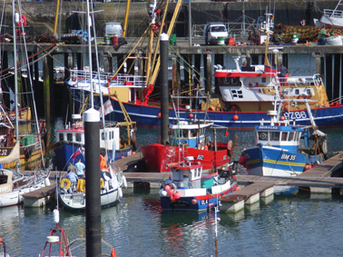 Fishing boats, Newlyn, Cornwall