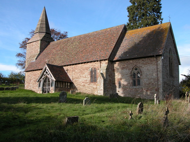 Upper Sapey church