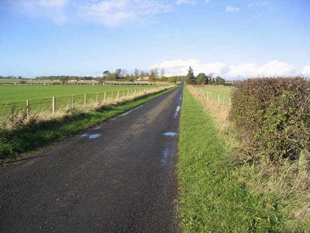 The road to Winfield Farm