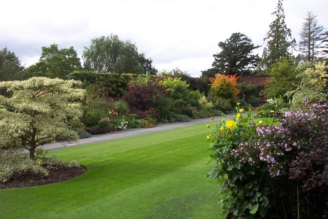 Walled Garden at Holehird House