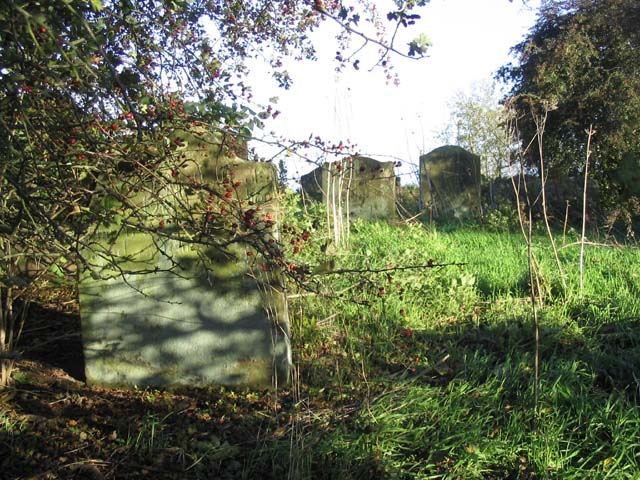 Old graveyard at Hilton