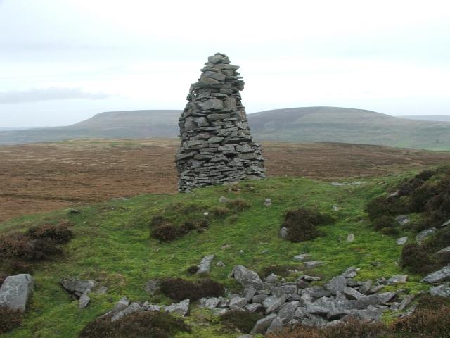 Cairn on Wassett Fell.